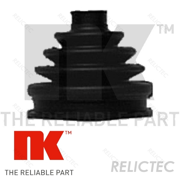 CV Boot Driveshaft Rubber 3B0498203F Front//Outer 01171