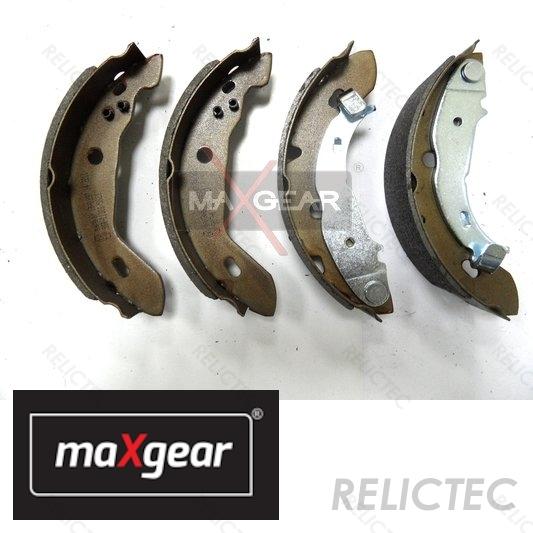 Rear Axle Brake Shoe Set 42 mm Fits MERCEDES W168 Hatchback 1997-2004