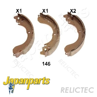 Pagid Handbrake Shoe Set Car Parts Jeep Patriot Dodge Avenger Chrysler Sebring