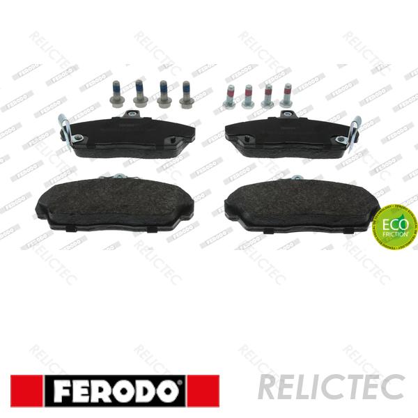 Rear Delphi Brake Pads Full Axle Braking Set MG MG ZR 105 120 160 2.0 TD