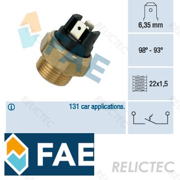 details about radiator fan temperature switch sensor peugeot audi citroen 100,205 ii 2,i 1 electric fan relay wiring diagram citroen cx 2200 radiator fan switch