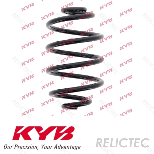 1x OE Quality Replacement KYB K-Flex Rear Suspension Coil Spring RX6341