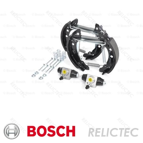 VW Polo 6N1 60 1.4 Aluminium Genuine Febi Rear Wheel Brake Cylinder