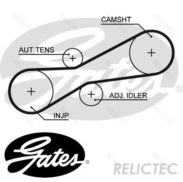 Timing Cam Belt VW Volvo:LT 28-35 II 2,TRANSPORTER IV T4