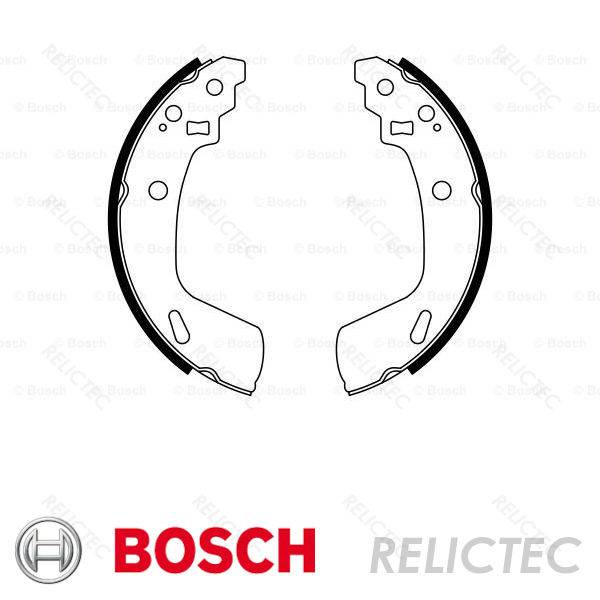 Borg & Beck BBS6491 Brake Shoes and Accessories Brake Shoes ...