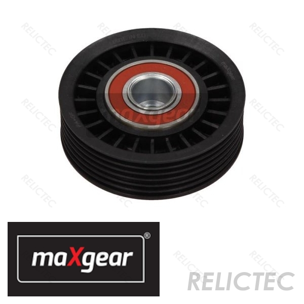 Aux Belt Idler Pulley 532036820 INA Guide Deflection 7740252 Quality New