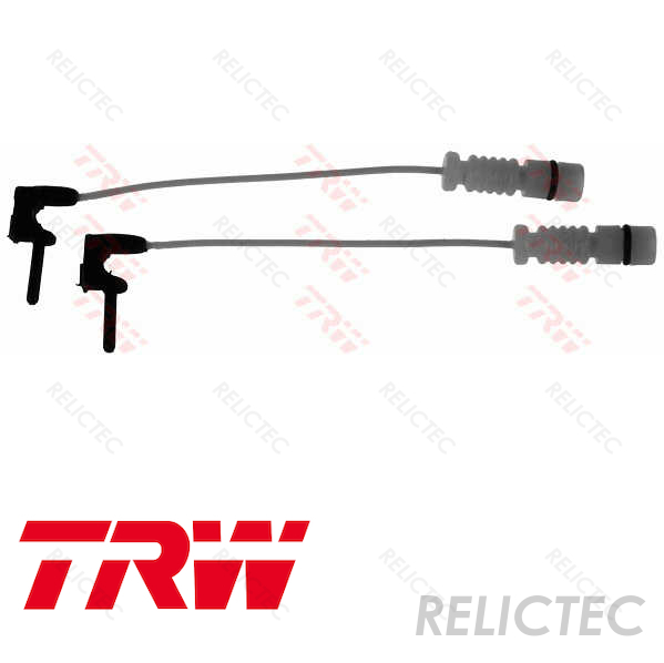 Borg /& Beck Front Brake Pad Wear Sensor Warning Indicator Genuine OE Quality