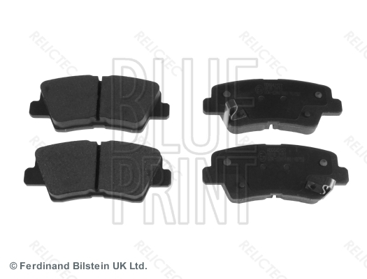 58302D7A70 Q BRAKE PAD REAR HY VELOSTER 2011 VELOSTER 2015 20