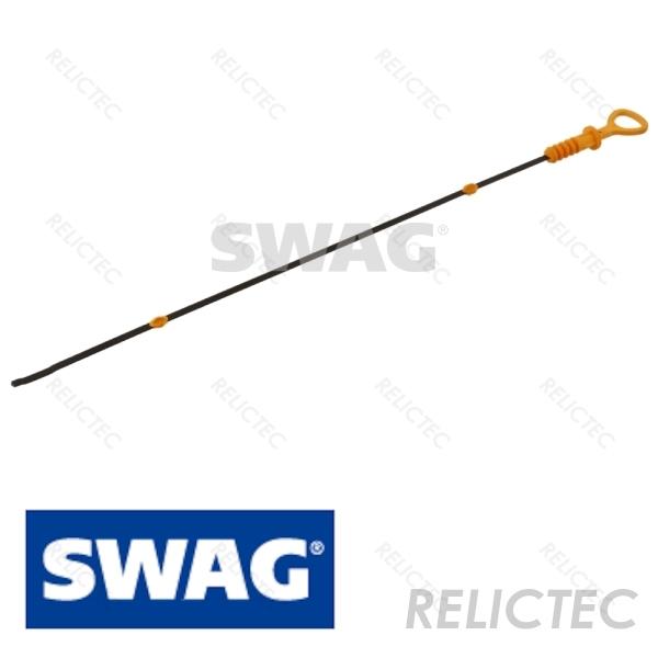 SWAG Oil Dipstick Funnel Fits AUDI Tt SEAT SKODA VW Bora 1.6-1.8L 6A103663B