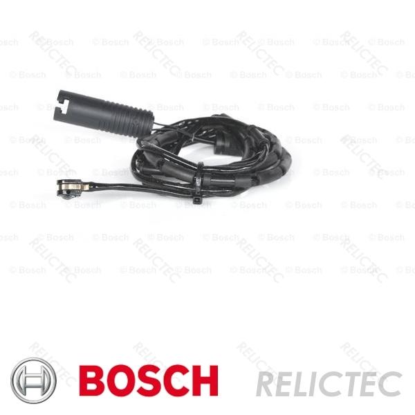 Fits BMW 3 Series E46 320 Cd Genuine OE Quality Apec Rear Brake Pad Wear Sensor