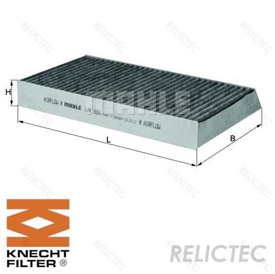 MANN elemento filtro aria per RENAULT MEGANE Grandtour 1.6 DCI 130
