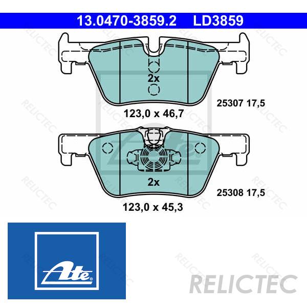 For BMW F22 F23 F30 F31 F32 F33 F34 F36 2 3 4 Series Front Brake Pad Set Genuine