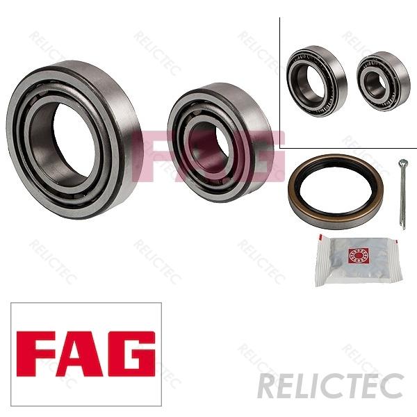 2x Wheel Bearing Kits Front FBK355 First Line MB109564 MB109565 MB633086 Quality