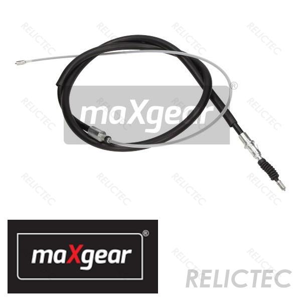 Rear Handbrake Cable Pair for PEUGEOT 307 CITROEN C4 Mk 1 Hatchback models