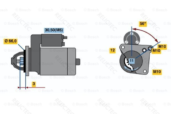 NK 4718360 Anlasser
